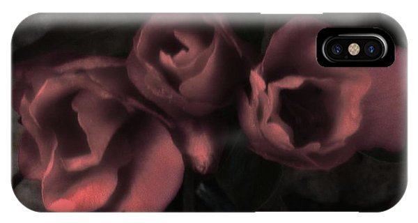 Red Bloom IPhone Case