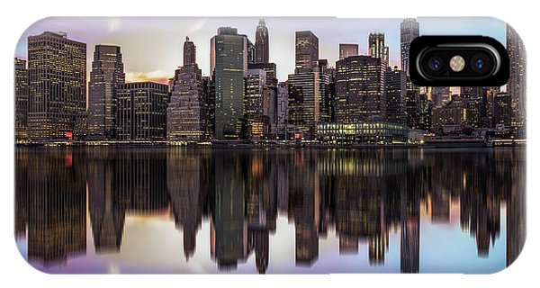 Travel iPhone Case - Reflections Of A Sleepless City by Rostislav Kralik