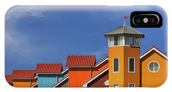 Rooftops iPhone Case - Reitdiep by Theo Luycx