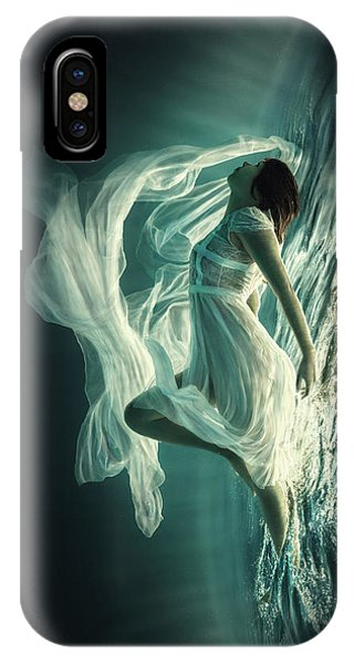 Flow iPhone Case - Renaissance by Dmitry Laudin