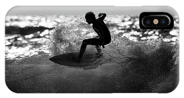 Surf iPhone Case - Ride by Eyal Bussiba