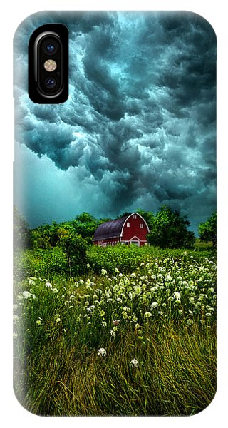 Riding The Storm Out IPhone Case