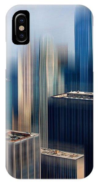 Architectural iPhone Case - Rising Metropolis by Az Jackson