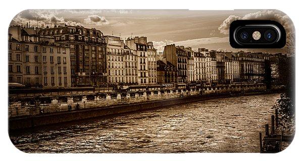 River Seine Paris IPhone Case