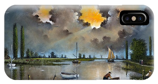 River Yare On The Broads IPhone Case