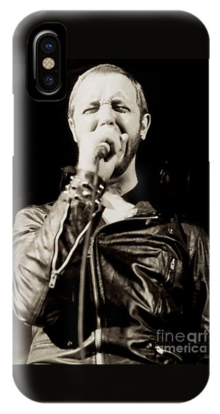 Rob Halford Of Judas Priest At The Warfield Theater During British Steel Tour - Unreleased  IPhone Case