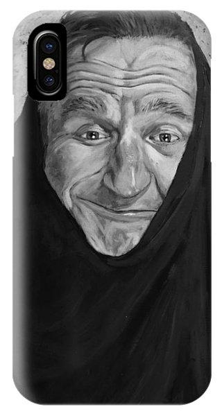 Robin Williams Comedian iPhone Case - Robin Williams by Adam Lusso