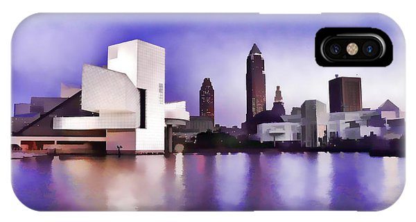 IPhone Case featuring the photograph Rock And Roll Hall Of Fame - Cleveland Ohio - 3 by Mark Madere