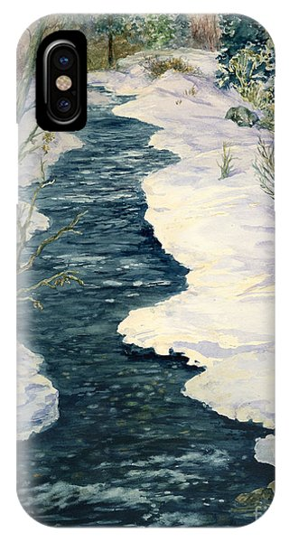 Rock Creek Winter IPhone Case