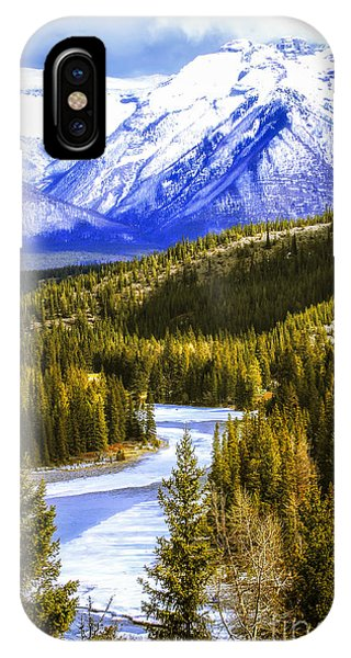 Rocky Mountain iPhone Case - Rocky Mountains Landscape by Elena Elisseeva