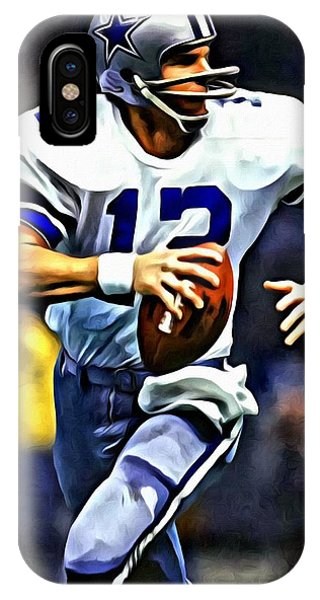 Roger Staubach IPhone Case
