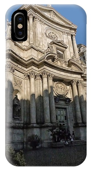 Rome Building 3 IPhone Case