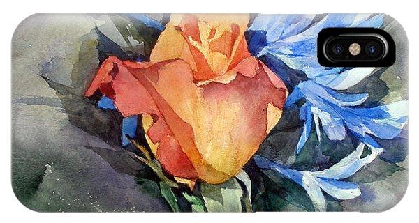 iPhone Case - Rose by Natalia Eremeyeva Duarte