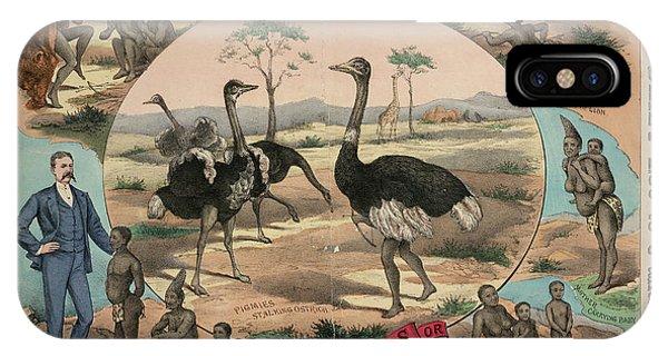 Emu iPhone Case - Royal Aquarium by British Library