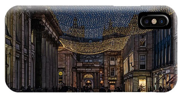 Royal Exchange Square Glasgow IPhone Case
