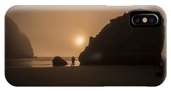 Ruby Beach Sunset IPhone Case