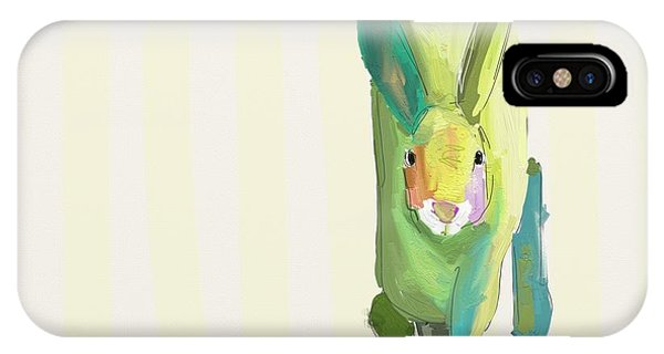 Room iPhone Case - Running Bunny by Cathy Walters