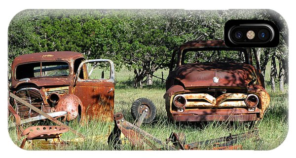 Rust In Peace No. 3 IPhone Case