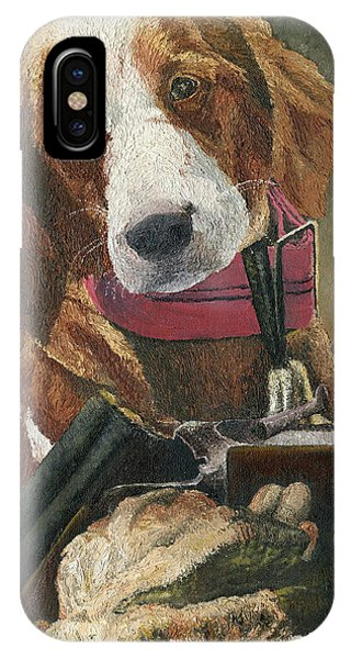 Rusty - A Hunting Dog IPhone Case