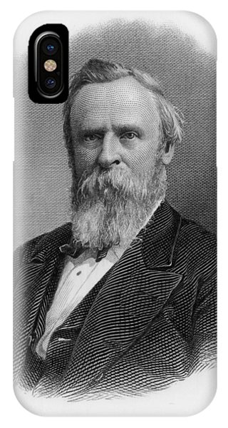 Rutherford Birchard Hayes  19th Phone Case by Mary Evans Picture Library