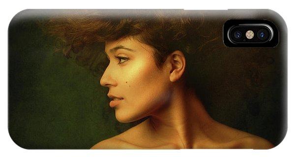 Hair iPhone Case - Sabina by Zachar Rise