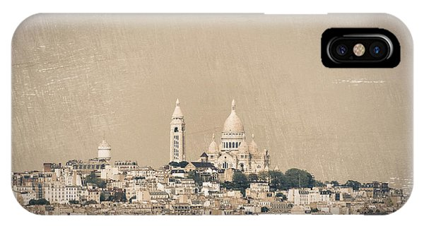 Sacre Coeur Basilica Of Montmartre In Paris IPhone Case