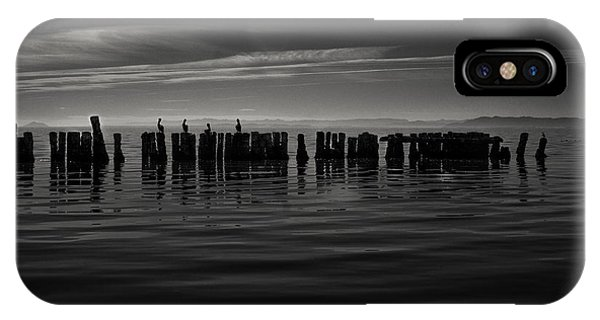 Salton Sea Piles IPhone Case