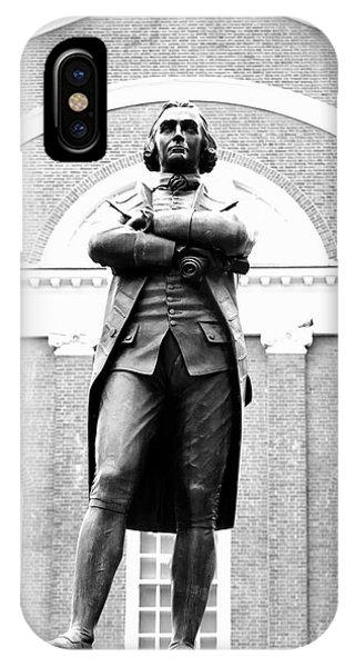 Samuel Adams Statue, State House Boston Ma IPhone Case