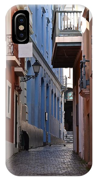 San Francisco Chapel Alley IPhone Case
