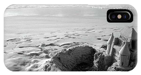 Sandcastle On The Beach, Hapuna Beach IPhone Case