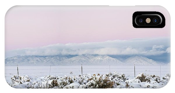Sangre De Cristo iPhone Case - Sangre De Cristo Range With Clouds by Panoramic Images