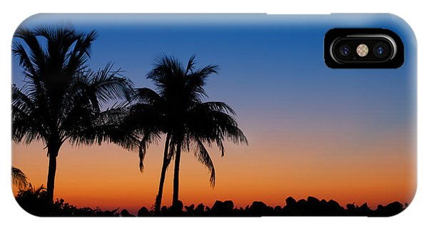 Sanibel Island Florida Sunset IPhone Case