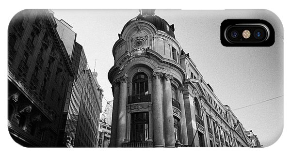 Santiago Stock Exchange Building Chile Phone Case by Joe Fox