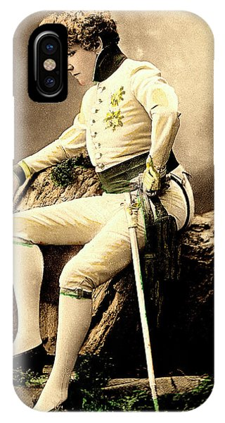 Sarah Bernhardt Phone Case by Collection Abecasis