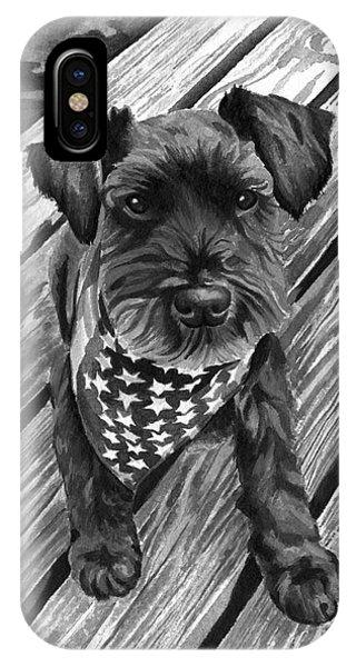 Ragnar Black Dog IPhone Case