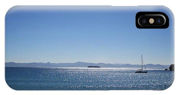 Sea In Tarifa IPhone Case