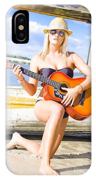 Strum iPhone Case - Sea Shore Serenade by Jorgo Photography - Wall Art Gallery
