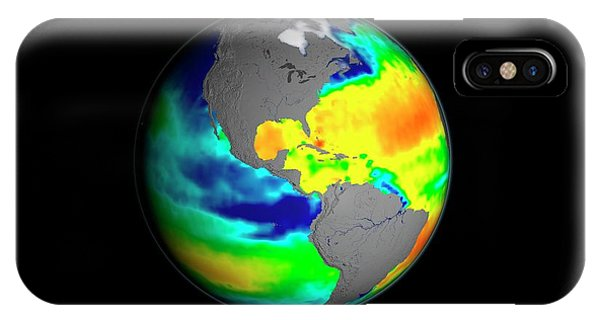 South Pacific Ocean iPhone Case - Sea Surface Salinity by Nasa/goddard Space Flight Center Scientific Visualization Studio