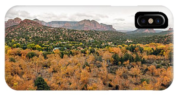 IPhone Case featuring the photograph Sedona Panorama by Tam Ryan