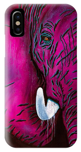Seeing Pink Elephants IPhone Case