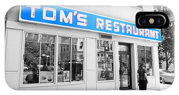 Seinfeld Diner Location IPhone Case