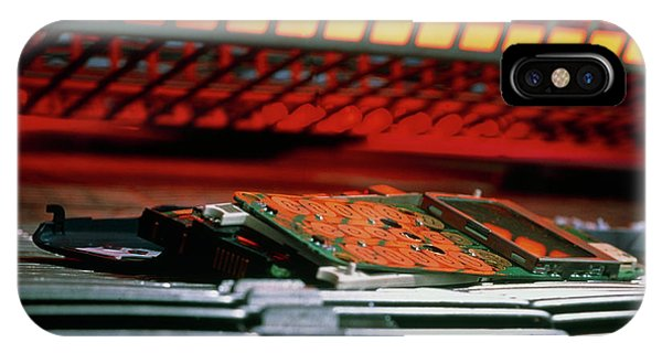 Technological iPhone Case - Self-disassembling Mobile Phone by Jerry Mason/science Photo Library