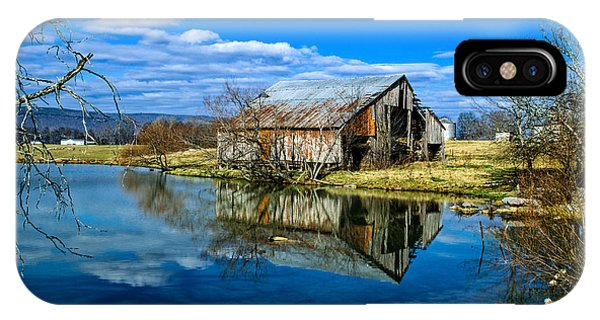 Sequatchie Valley Barn IPhone Case