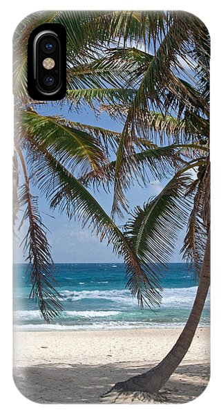 Serene Caribbean Beach  IPhone Case