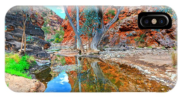 Serpentine Gorge Central Australia IPhone Case