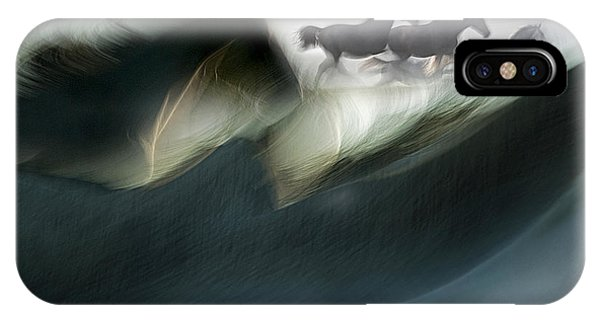 Motion Blur iPhone Case - Shadows Of Power by Milan Malovrh