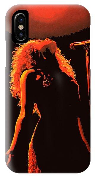 Popstar iPhone Case - Shakira by Paul Meijering