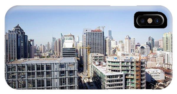 Shanghai Phone Case by Adam Hart-davis/science Photo Library