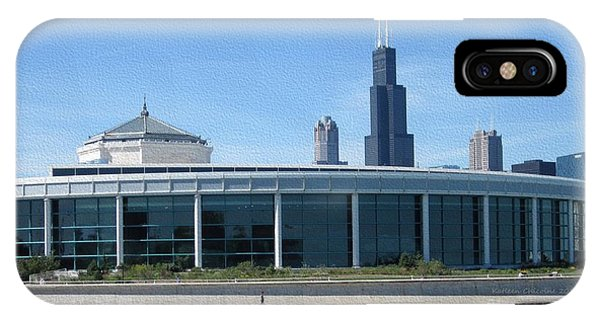 Shedd Aquarium IPhone Case