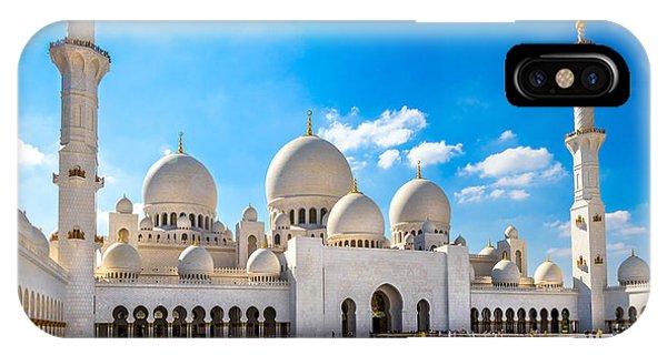 Sheikh Zayed Mosque - Abu Dhabi - Uae IPhone Case